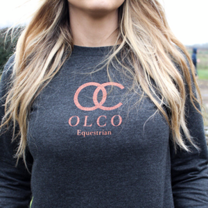 OLCO shimmer sweater (size medium)