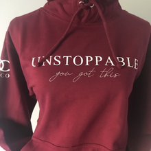 Load image into Gallery viewer, Unstoppable hoodie