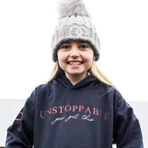 OLCO kids unstoppable hoodie