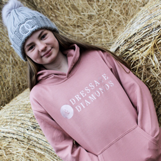 OLCO kids dressage and diamonds hoodie