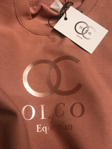 OLCO crew neck sweater (Rose Gold)