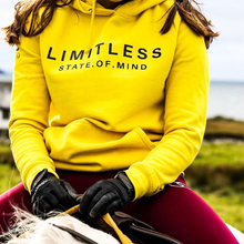 Load image into Gallery viewer, LIMITLESS hoodie (yellow)