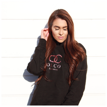 Load image into Gallery viewer, OLCO crew neck sweater (Rose Gold)