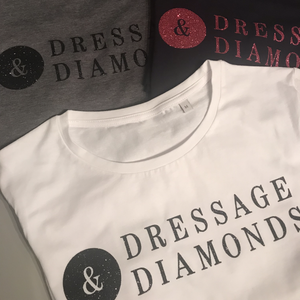 Sparkle dressage & diamonds t-shirt
