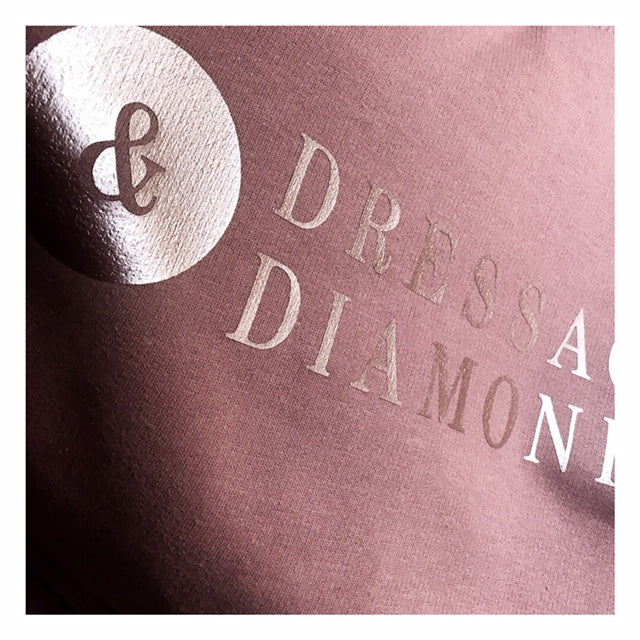 Dressage and diamonds crew neck sweater