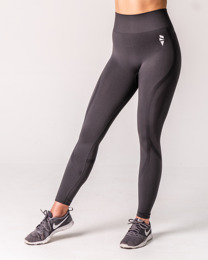 Refresh Seamless Leggings - Charcoal