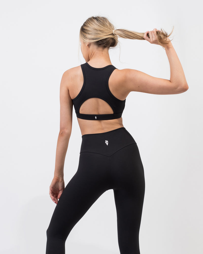 Reach Sports Bra - Black