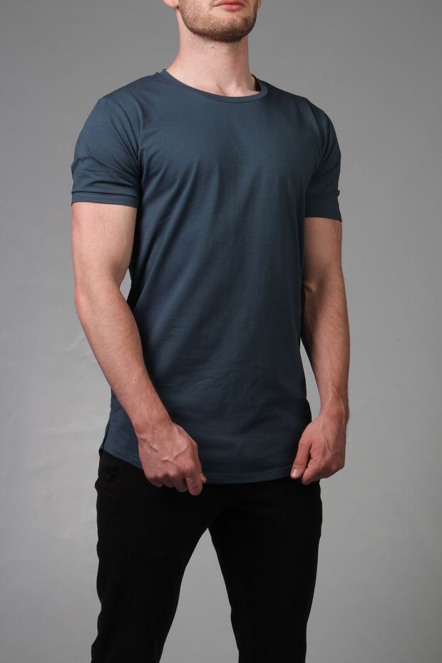 Transform Performance Tee - Malta Blue - DistanceWear