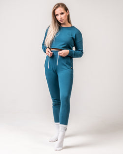 Cosy Joggers - Azure Blue