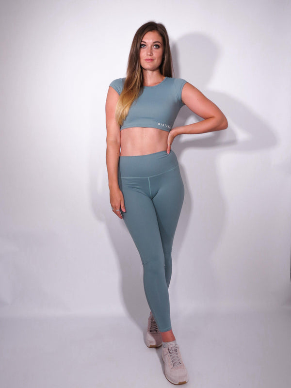 Infinity Leggings - Ocean - DistanceWear