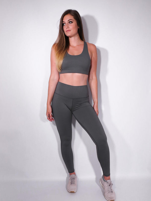 Infinity Leggings - Slate - DistanceWear