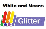 "Siser Glitter Sheet, white or neon colors, 10"" wide, 12"" long"