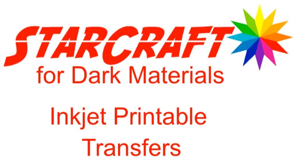 StarCraft Inkjet Printable Transfers for Dark Materials
