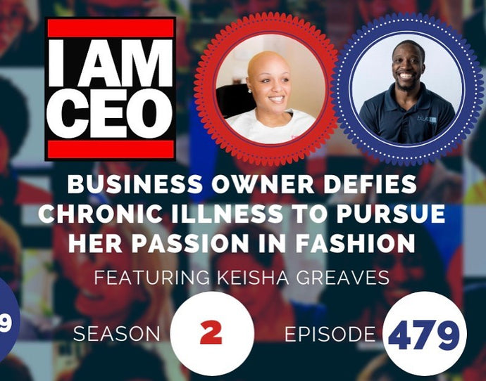 IAMCEO PODCAST-KEISHA GREAVES FROM GIRLS CHRONICALLY ROCK