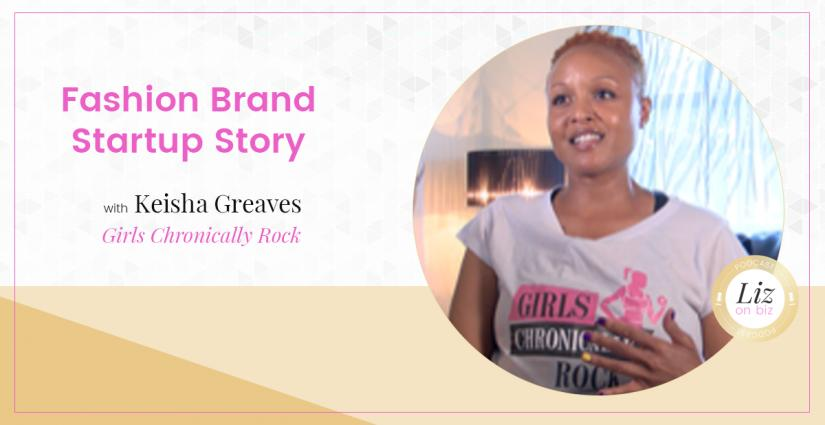 Keisha Greaves Fashion Brand Podcast: Featured with Business Consultant Liz Theresa