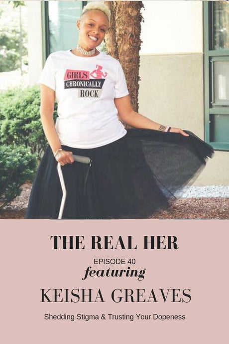 """The Real Her"" Podcast with Ashley Perkins"