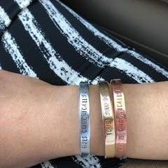 Cuff Bracelets-Girls Chronically Rock