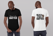 BLACK LIVES MATTER-MEN T-SHIRT
