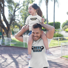 Kids Chronically Rock t-shirts with Muscle Logo-Girls Chronically Rock