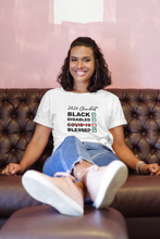 Covid-19 Checklist T-shirt-BLACK LIVES