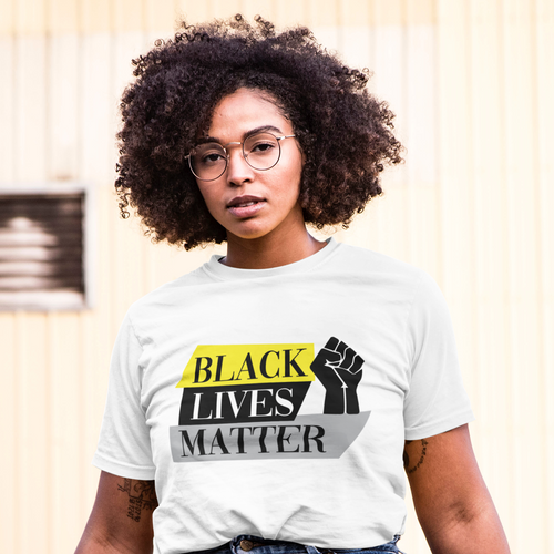 BLACK LIVES MATTER-YELLOW