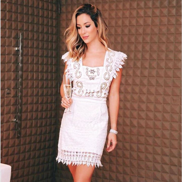 VESTIDO BLESSED SS030 PEROLA OFF