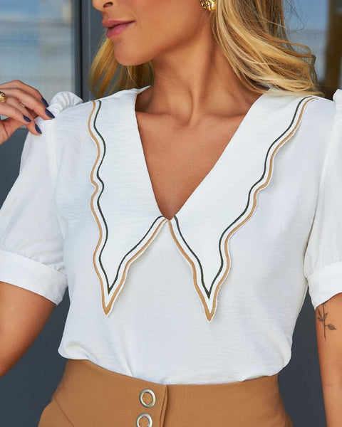 BLUSA VAIOLA BL721524 ISABEL OFF WHITE