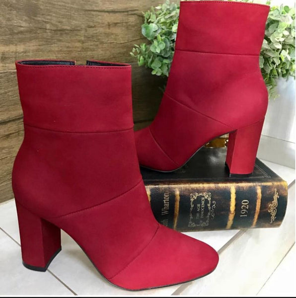 BOTA CARRANO 3121604 NOBUCK BORDO