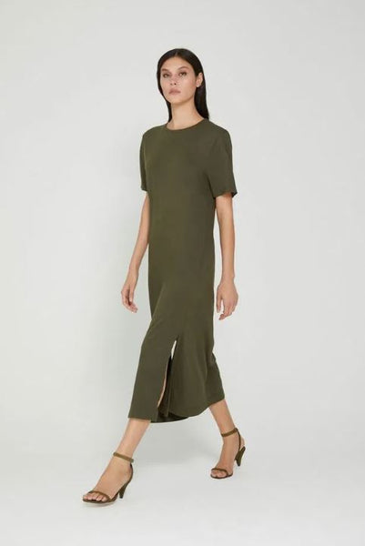 VESTIDO ANIMALE 07040980 T-DRESS VERDE MILITAR