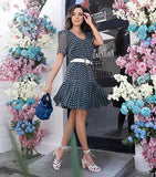 VESTIDO RAIZZ 20037095 GEORGETTE ESTAMPADO