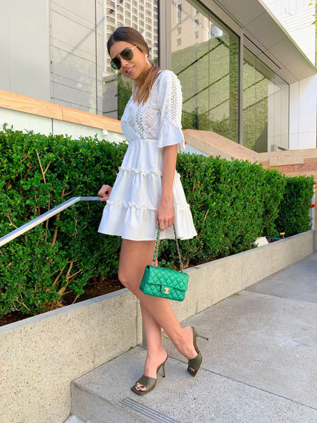VESTIDO CLOUDE 05084007 MELISSA OFF WHITE