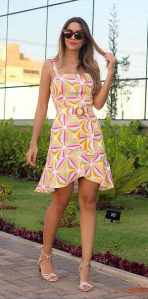 VESTIDO FORTINA 999150 GERMINIA ESTAMPADO