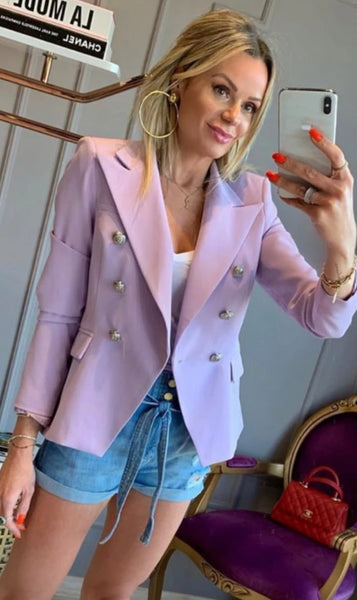 BLAZER MUSE GOLD LABEL 696.1 MONA LAVANDA