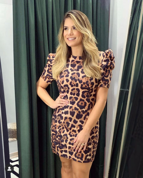 VESTIDO CLOUDE 04311015 SELLENA ANIMAL PRINT