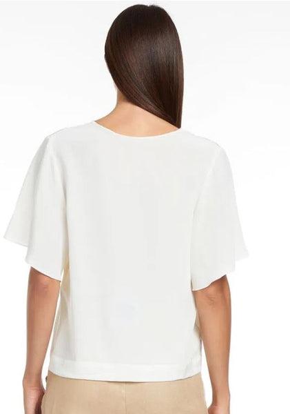 BLUSA ANIMALE 69110667 TOP SEDA NASA BRANCO  HALL