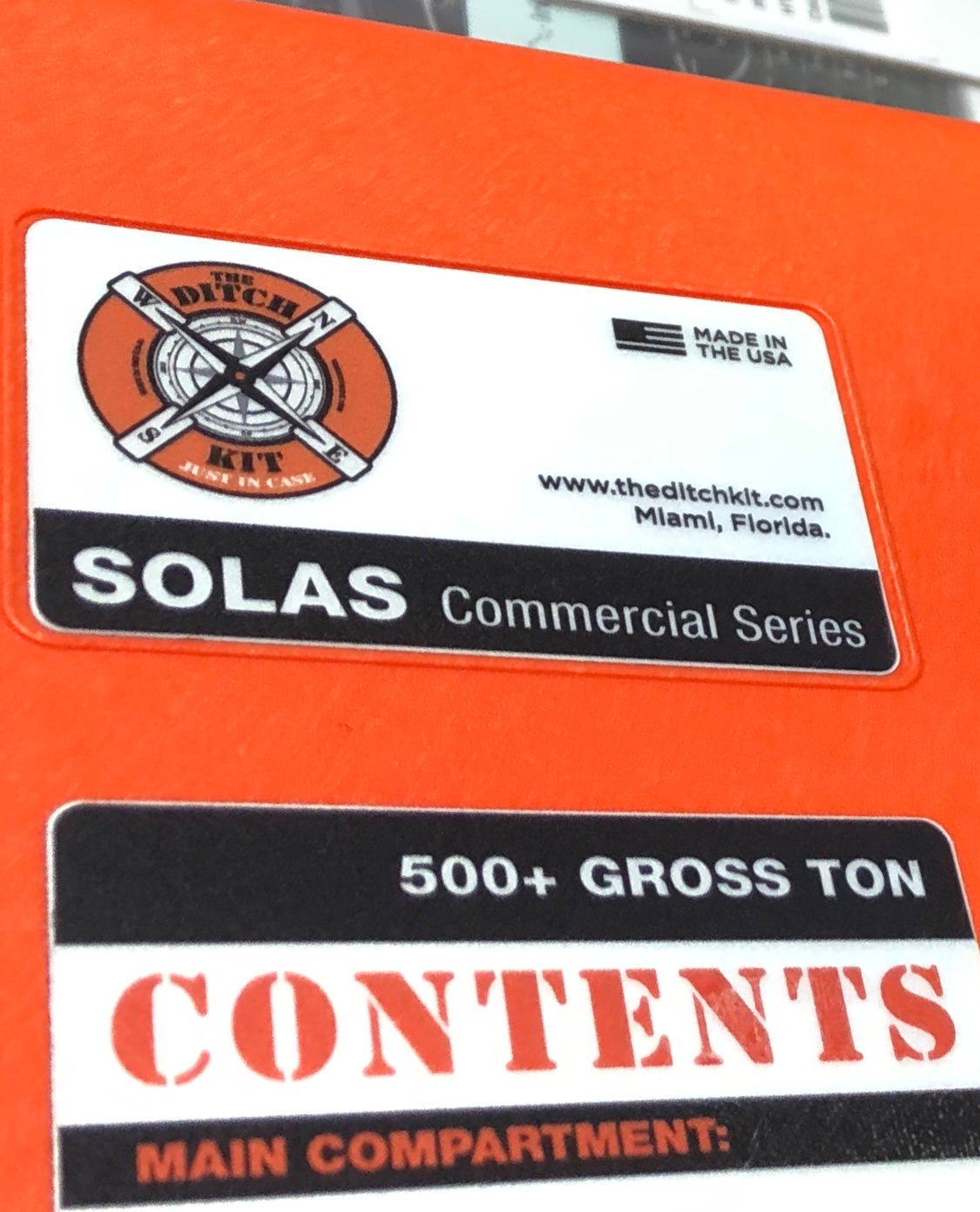 SOLAS / COMMERCIAL SERIES  (Call for quote)
