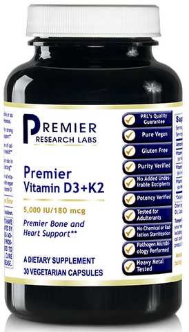 Vitamin D3+K2 NEW! by Premier Research Labs