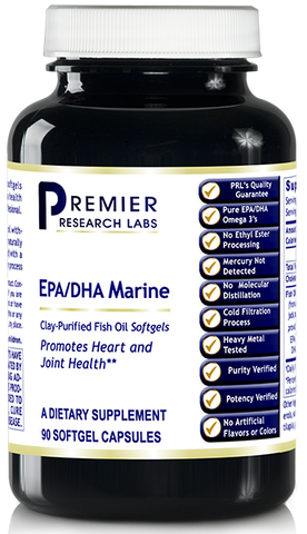 EPA/DHA Marine Softgels by Premier Research Labs
