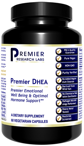 DHEA, Premier by Premier Research Labs