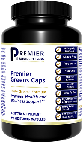 Premier Greens Caps (150 caps) by Premier Research Labs
