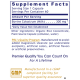 Colostrum-IgG™ (60 caps) by Premier Research Labs