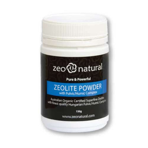Zeolite Powder (Clinoptilolite) with Fulvic/Humic Complex