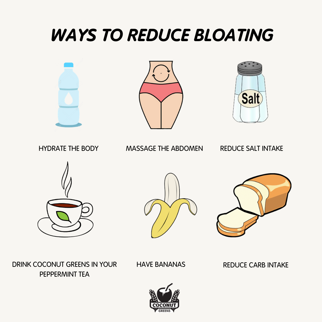 6 Ways To Help Reduce That Bloated Feeling