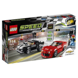 LEGO Speed Champions Chevrolet Camaro Drag Race 75874 brickskw bricks kw kuwait