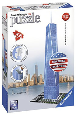 Ravensburger -One World Trade Center NY 3D Puzzle 125623 brickskw bricks kw kuwait online