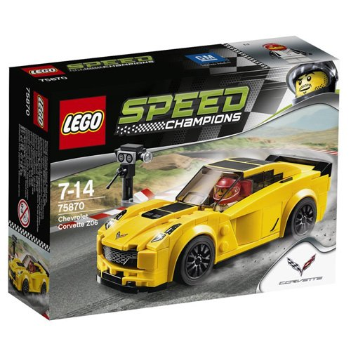 Lego Speed Champions Chevrolet Corvette Z06 75870 brickskw bricks kw kuwait