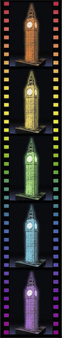 Ravensburger Big Ben - Night Edition - 3D Puzzle 125883-3