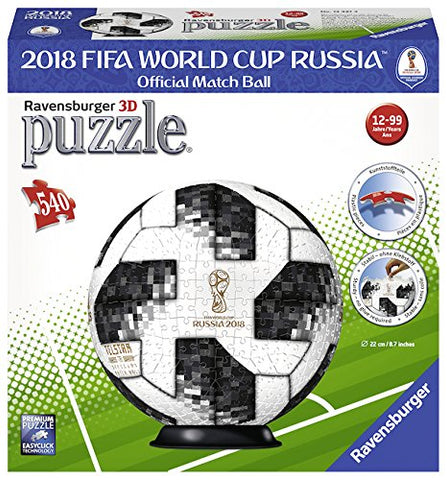 Ravensburger Adidas 2018 World Cup Puzzle Ball 3D 124374-1