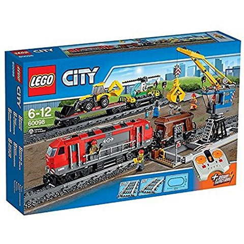 LEGO City Heavy-Haul Train 60098 - brickskw bricks kuwait