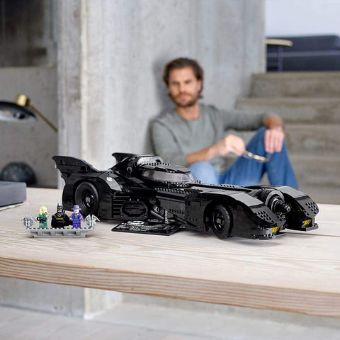DC Batman 1989 Batmobile 76139-4
